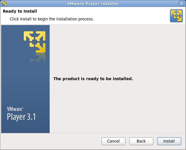 VMware Playre インストール 画像3