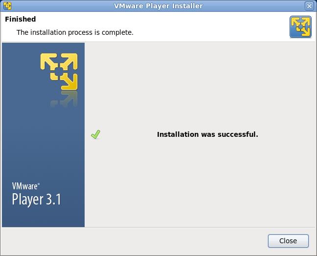 VMware Playre インストール 画像4