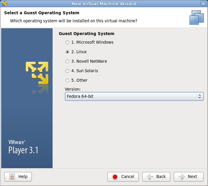 vmware guest OS インストール 画像3