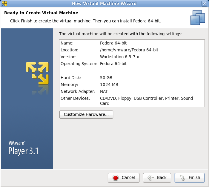 vmware guest OS インストール 画像6