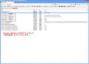 FireFox タブを開いた時のページ設定 画像2