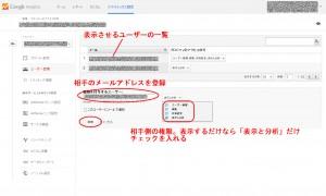 google analyticsの情報を他のユーザーページに表示する 画像2