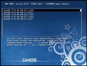 Linuxをシングルユーザーモードで起動する方法。パスワードを忘れたときに使うことが多い。 画像2