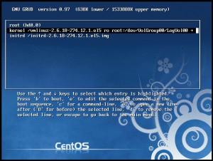 Linuxをシングルユーザーモードで起動する方法。パスワードを忘れたときに使うことが多い。 画像3