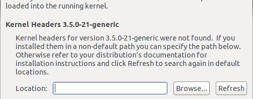 VMware Kernel Module Updater エラー画像