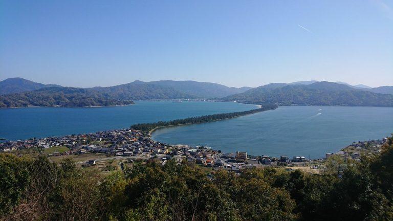 【サイクリング】笠松公園から天の橋立を一望、名物の浅蜊飯を堪能