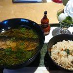 伊藤久右衛門 『抹茶ニシン蕎麦&ミニパフェ』