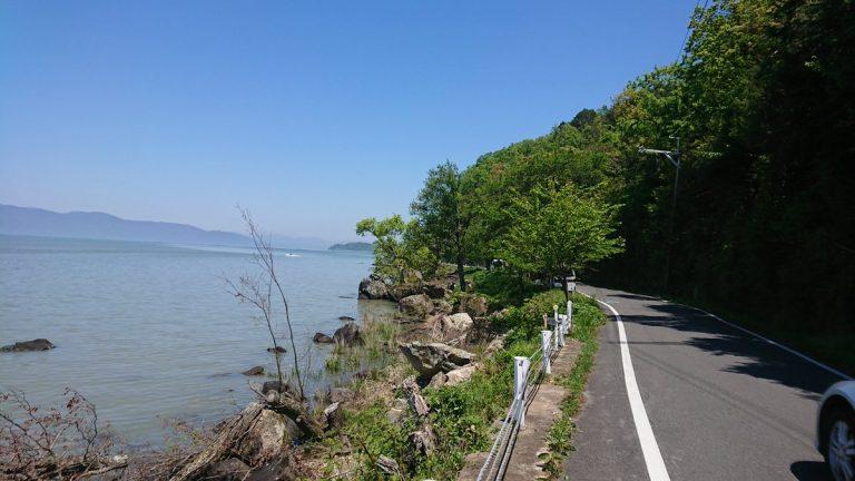 【サイクリング】琵琶湖一周。天候も良く絶好のサイクリング日和でした。