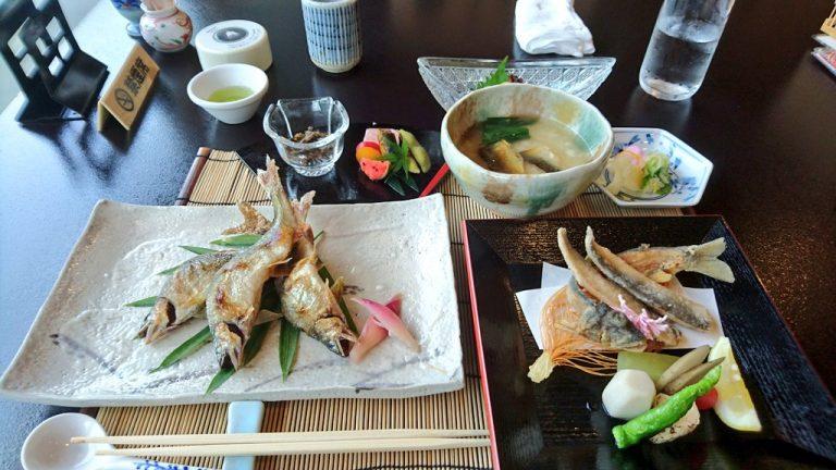 【サイクリング】せせらぎ亭八光館へ鮎料理を食べに行く