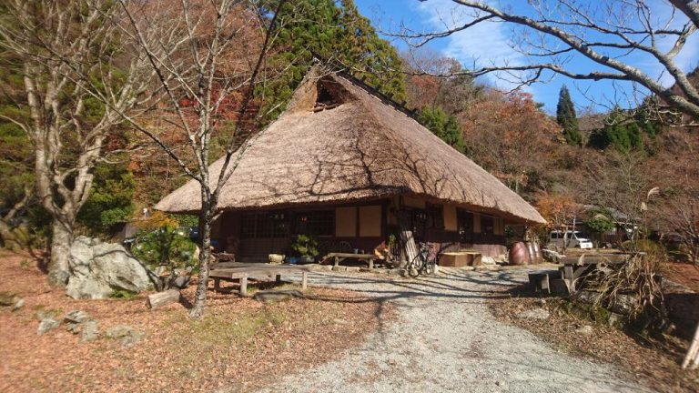 【サイクリング】兵庫県三田市  峠の茶屋 一軒屋で名物の抹茶蕎麦を堪能