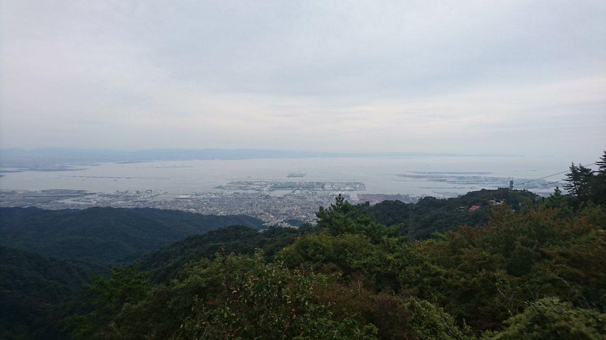 六甲山山頂付近