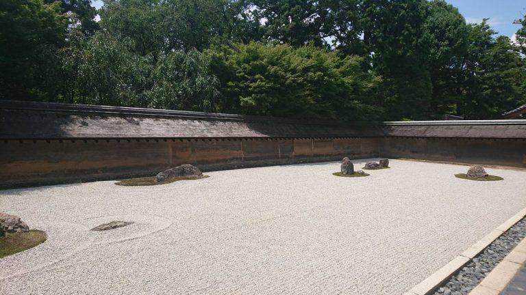 【サイクリング】(第二回)京都府、世界遺産巡り 龍安寺、上賀茂神社、下賀茂神社